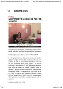 Read more about the article La presse en parle… Le petit journal